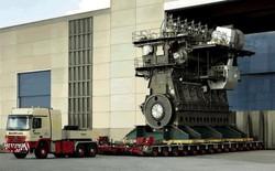 Chiêm ngưỡng động cơ lớn nhất thế giới, công suất 109.000 mã lực, mạnh gấp 9 lần động cơ tàu Titanic