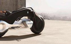 BMW Motorrad Vision: chiếc motor không có chân chống và an toàn tới nỗi không cần mũ bảo hiểm