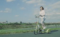 Người Nhật đã tạo ra chiếc xe đạp - đi bộ độc nhất thế giới