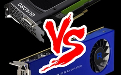 AMD phản đòn NVIDIA bằng VGA dành riêng cho designer chuyên nghiệp