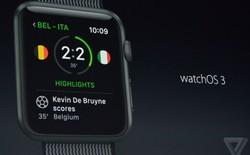 Apple ra mắt watchOS 3: nhanh hơn nhiều, viết được chữ trên màn hình, trải nghiệm thú vị hơn
