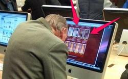 """Những hình ảnh """"cạn lời"""" bắt gặp trong Apple Store"""