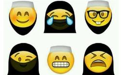 Ả-Rập Xê-Út bắt WhatsApp phải cho Emoji đeo mạng che mặt, mọc thêm râu