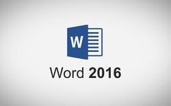Thao tác trên Word 2016 nhanh hơn với các thiết lập phím tắt được tạo bởi chính bạn