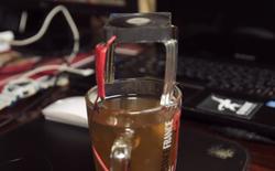 Nếu bạn không thích trà quá nóng? Hãy tự chế cho mình món đồ chơi này