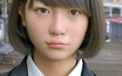 Đố bạn biết nữ sinh Nhật Bản này là thật hay sản phẩm của máy tính?