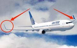 Tại sao máy bay lại có phần đuôi cánh gập?