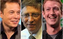 Phương pháp làm việc kì lạ nhưng hiệu quả của 3 thiên tài Bill Gates, Mark Zuckerberg và Elon Musk