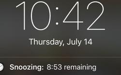 Không phải vô cớ mà nút hoãn báo thức (Snooze) của iPhone luôn là 9'