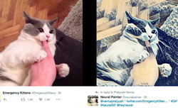 Không cần đến Prisma, bạn vẫn có thể tạo ra ảnh nghệ thuật thông qua Twitter