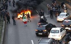 Biểu tình chống Uber biến thành bạo loạn, thủ đô Paris lại chìm trong biển lửa