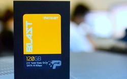 Công bố kết quả quay thưởng ổ cứng SSD Patriot Blast 120 GB