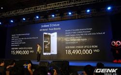 Chiếc ZenFone đầu tiên tại Việt Nam sử dụng Snapdragon 821, đắt hơn Galaxy S7