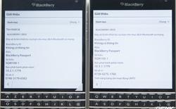 """Làm thế nào để phân biệt BlackBerry Passport Quốc tế """"chuẩn"""" và Passport Quốc tế """"đội lốt""""?"""