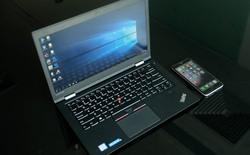 Đánh giá laptop doanh nhân Lenovo ThinkPad X1 Carbon 2016: Pin khỏe, máy nhẹ, phần cứng mạnh mẽ, bản lề linh hoạt