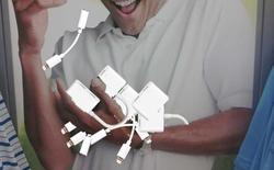 Vấn đề dây nhợ của Apple đã rối tung cả lên rồi