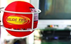 Chỉ cần dùng một quả bóng bạn cũng có thể dập lửa dễ dàng