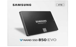 Samsung sắp ra mắt ổ cứng SSD 850 EVO dung lượng 4TB, giá chỉ 33,3 triệu