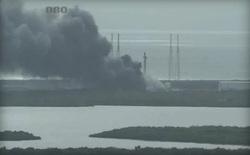Tên lửa Falcon 9 bất ngờ phát nổ trước ngày phóng vệ tinh