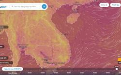Ventusky là bản đồ thời tiết tương tác thời gian thật rất tuyệt vời mà bạn nên thử qua