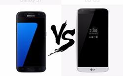 Xem video để biết ngay camera Galaxy S7 edge và LG G5, mèo nào cắn mỉu nào