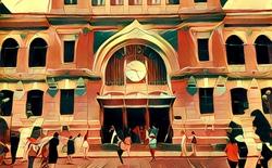 Hãy chiêm ngưỡng Sài Gòn đẹp lạ lùng qua tranh sơn dầu, tất cả chỉ nhờ một ứng dụng trên điện thoại