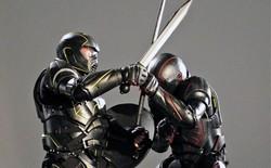 """Bộ giáp cực độc này sẽ tái hiện lại khung cảnh """"Võ sĩ giác đấu"""" thời La Mã cổ đại"""