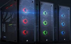 Bộ đôi vỏ case Corsair Crystal Series 460X và 570X: Dẫn đầu xu hướng với kính cường lực và đèn LED RGB đầy màu sắc