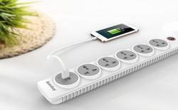 Huntkey giới thiệu ổ cắm điện SZN607 tích hợp cổng USB, an toàn tuyệt đối cho trẻ em