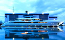 Ngắm nhìn siêu du thuyền xa hoa nhất thế giới với bể bơi vô tận, thác nước và cả rạp chiếu phim