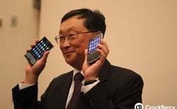 CEO BlackBerry khẳng định smartphone với bàn phím QWERTY huyền thoại sắp được ra mắt