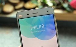 Trải nghiệm hệ điều hành MIUI 8 trên Xiaomi Mi 4 tại Việt Nam