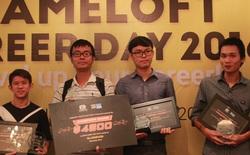 Đội BLUEMOON giành giải 100 triệu đồng trong cuộc thi Open Game Jam 2016 của Gameloft