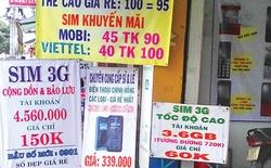 Dịp cận Tết, số lượng sim 3G chuyên dụng bán ra nhiều gấp 3 ngày thường