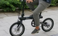[Độc quyền] Xe đạp Xiaomi đã về tới Việt Nam: dáng đẹp, gấp gọn, đạp xe bon bon