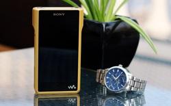 Cận cảnh Sony Walkman NW-WM1Z: máy nghe nhạc mạ vàng, nặng nửa ký, đổi ngang 4 chiếc iPhone 7