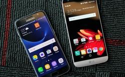 Đọ dáng LG G5 Hàn Quốc và Galaxy S7 chính hãng Việt Nam