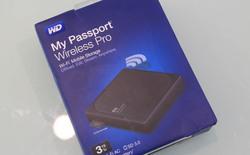 Trên tay My Passport Wireless Pro: Ổ cứng Wi-Fi cực tiện lợi dành cho smartphone từ Western Digital
