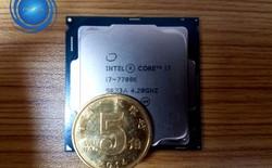 Lộ điểm benchmark Intel Core i7-7700K, dễ dàng ép xung lên 5,0 GHz