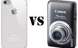 Những lí do khiến smartphone chưa thể thay thế máy ảnh compact