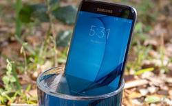 """Xem Galaxy S7 edge vẫn """"sống sót"""" sau khi ngâm nước hơn 16 giờ"""