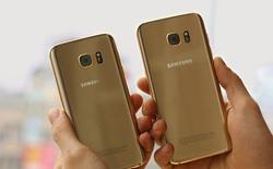 Galaxy S7 mạ vàng 24K có giá từ 38,8 triệu đồng