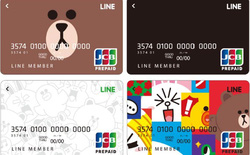 Line sẽ ra mắt thẻ thanh toán quốc tế với hình nhân vật gấu Brown dễ thương