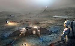 Nghiên cứu thành công loại bê tông lưu huỳnh mới để xây nhà trên Sao Hỏa