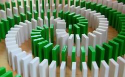[Video] Đã mắt với những màn đổ domino có một không hai trên thế giới