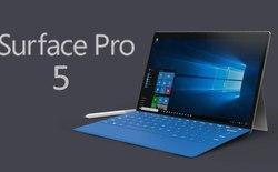 Surface Pro 5 sẽ được nâng cấp cấu hình mạnh mẽ: 512GB SSD, chip Kaby Lake, màn 4K