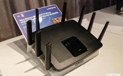 Linksys ra mắt router Wi-Fi EA9500: 3 băng tần, 8 râu, tích hợp công nghệ MU-MIMO, giá 9 triệu đồng