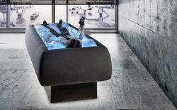 Giường bằng nước êm ái nhẹ nhàng mà không ướt, giải pháp tuyệt vời cho mùa hè nóng nực