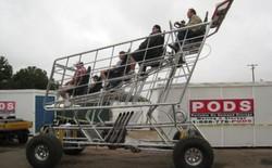 Bạn nghĩ xe đẩy hàng ở siêu thị có thể chở được bao nhiêu cân?
