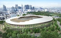 Nhật Bản tiết lộ chính thức mẫu thiết kế sân vận động Olympic Tokyo 2020
